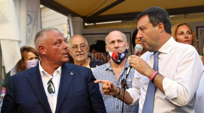 Salvini in Maremma