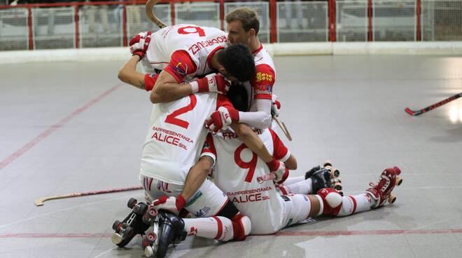 Circolo Pattinatori vs Bassano 1a vittoria