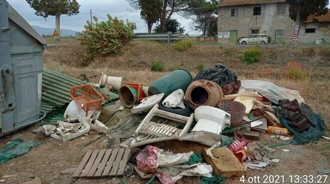 discarica Piombino rifiuti
