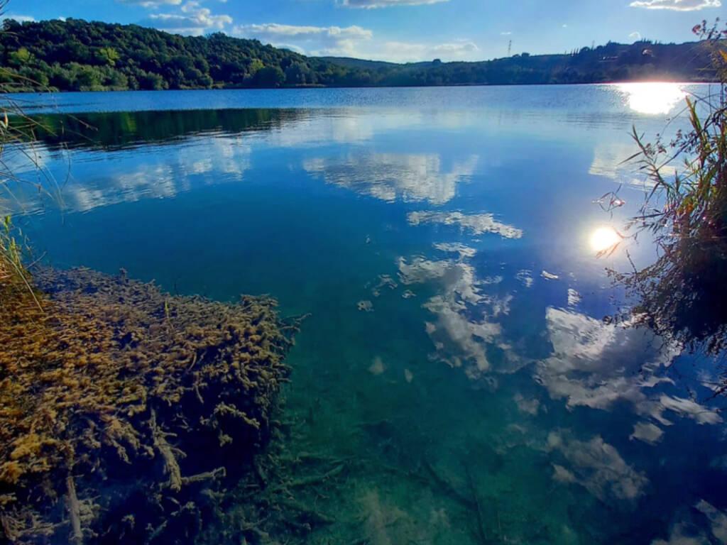 foto del giorno - lago accesa