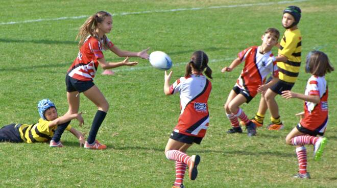 Grosseto rugby under11 - trasferta Elba