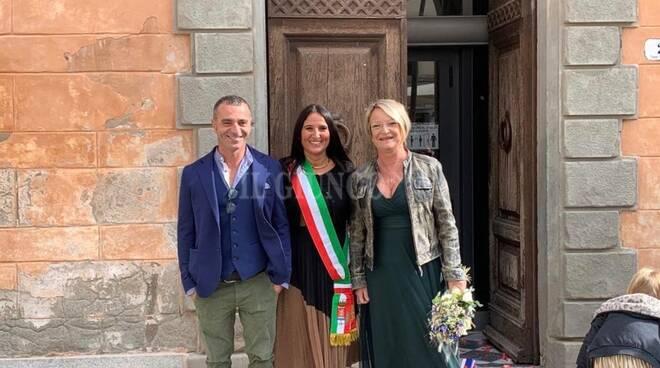 Lisa e Mirko sposi