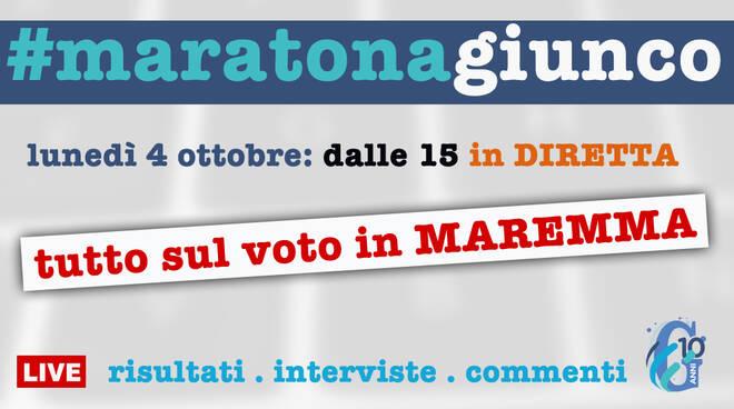 #maratonagiunco: cartello annuncio