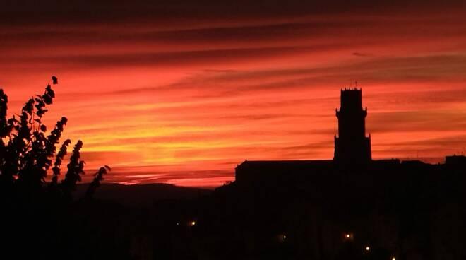 tramonto foto del giorno di mattia formiconi