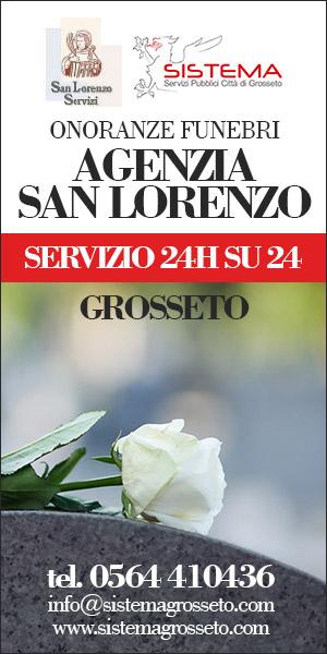 Onoranze funebri San Lorenzo - Sistema srl - Tel: 0564.410436