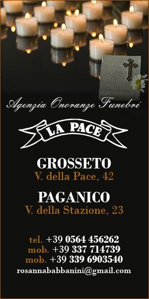 Agenzia onoranze funebri La Pace - Tel. 0564.456262
